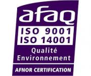 Certifié ISO 14 001 !