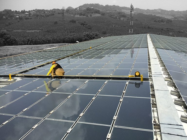 Parc photovoltaïque ALBIOMA