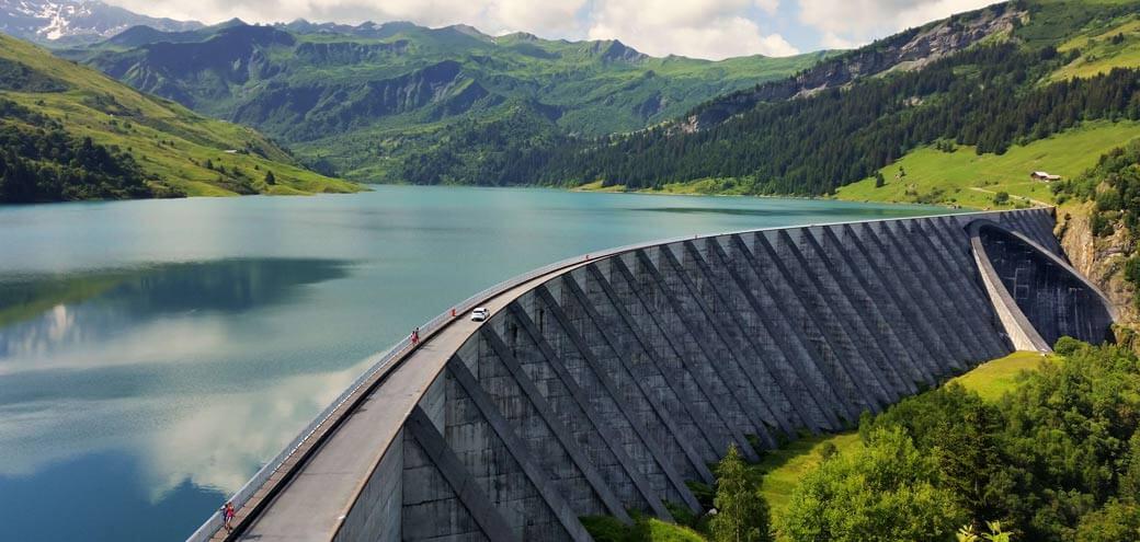 Barrage de Savoie Barrage de Savoie - milieux naturels - sécurité en hauteur Milieux naturels