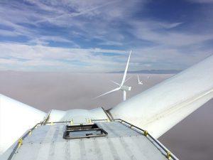 sécurisation d'accès VERTILIGNE sur éolienne
