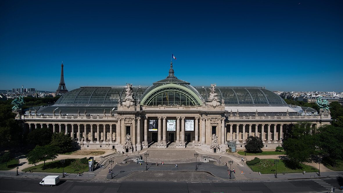 Système rail antichute incliné COMBIRAIL - Grand Palais Paris