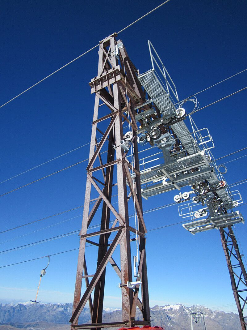 les2alpes pylones vertiligne