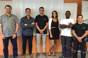 Nos nouveaux collaborateurs ont été formés aux produits et savoir-faire VERTIC !