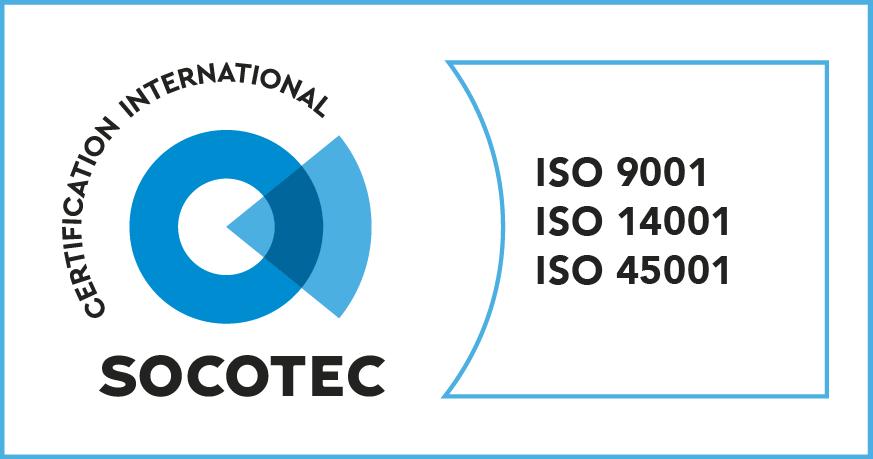 SOCOTEC ISO 9001 14001 45001
